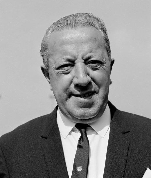 Jimmy Murphy, who was crucial for United in the post-Munich era.
