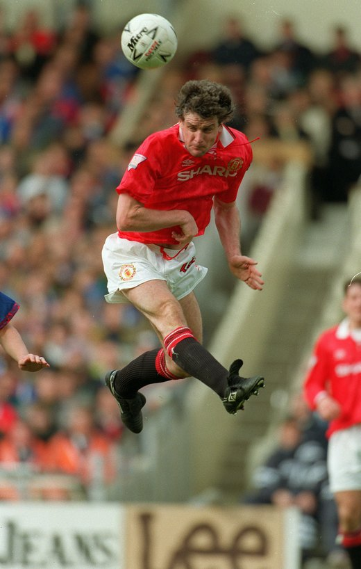 Mark Hughes, a midfielder whose powerful drives frightened opponents.