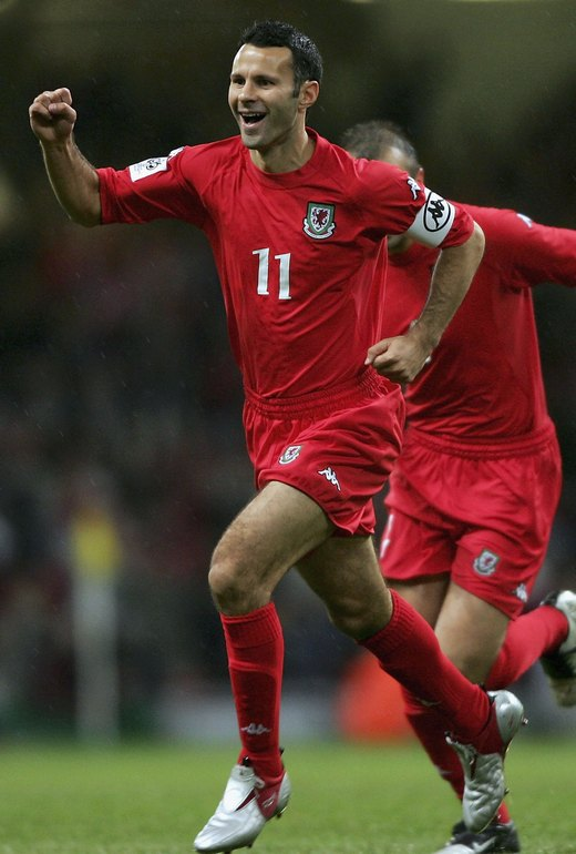 Ryan Giggs, United's most decorated player, was always proud to play for Wales.