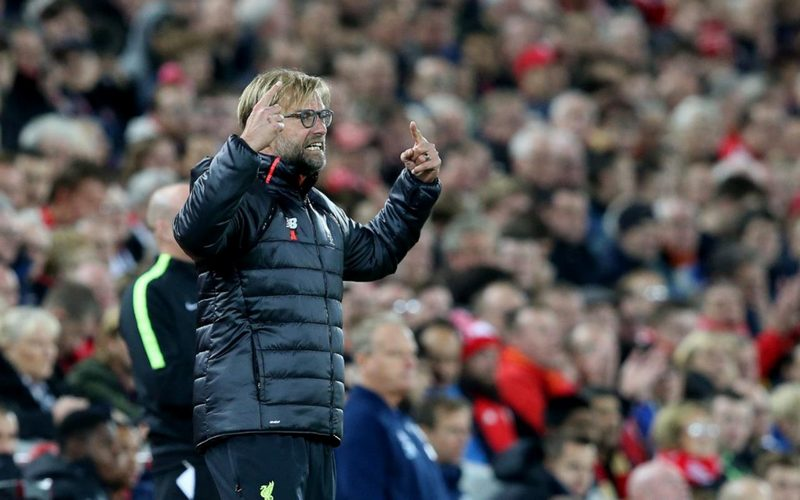 Klopp's side are defensively compact and they press very high up the pitch