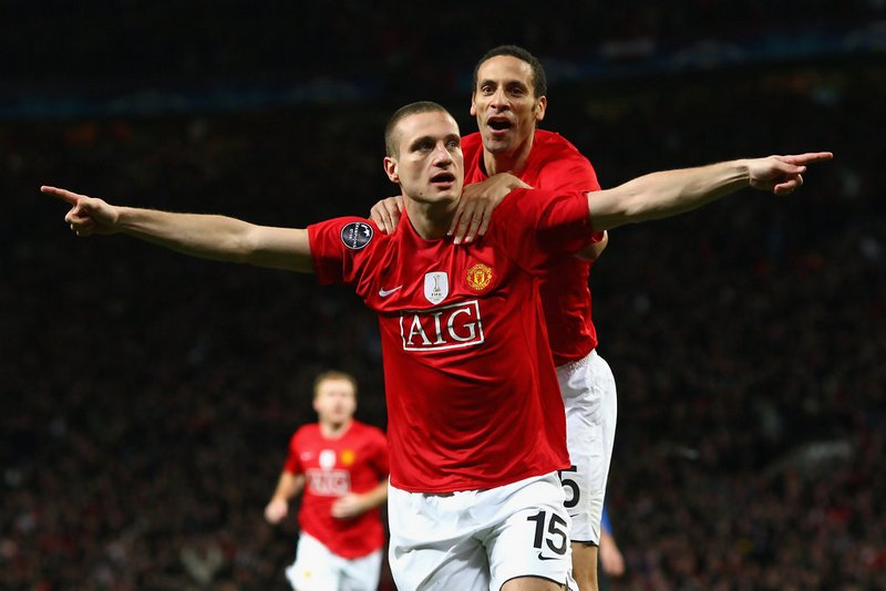 Nemanja Vidic and Rio Ferdinand were both good in the air
