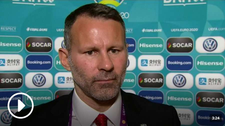 Ryan Giggs says he is satisfied with Wales' Euro 2020 draw which sees his side face Croatia, Slovakia, Hungary and Azerbaijan.